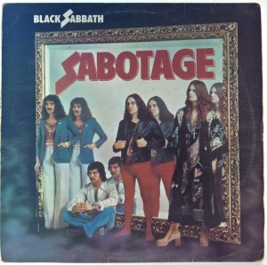Black Sabbath - Sabotage UK 1 PRESS
